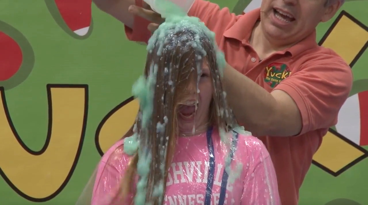Slimed @ Fort Concho Elementary
